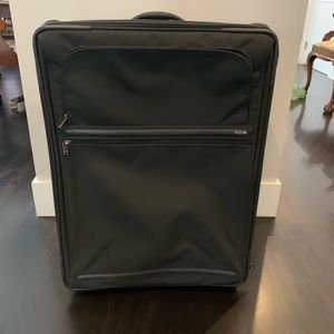 Tumi Checked Suitcase